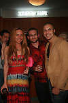 The Creatives Agency's President Susi Kenna, Raphael Bassalobre and John attend the MetroGuest Website Launch Party Event Hosted by So So, Incredibly Beautiful Featuring Artwork by Carlos Charlie Perez and Julio Cesar Gonzalez at The Sky House, NY 5/4/2011