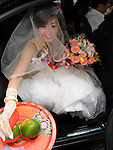 Taiwanese Wedding -- Arrival at the groom's hotel.<br />