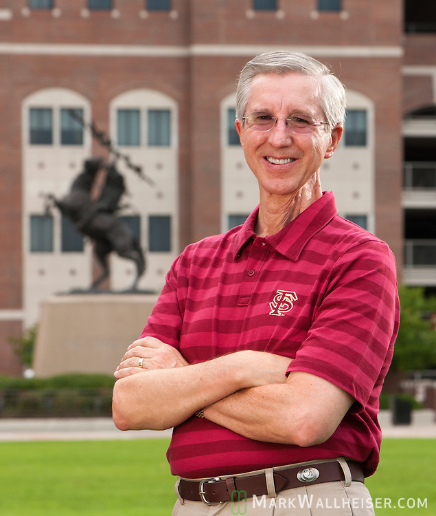 Mike and Judy Pate on the FSU campus in Tallahasseet, Florida July 28, 2011.