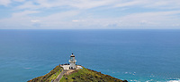 Lighthouse at cape Reinge, New Zealand