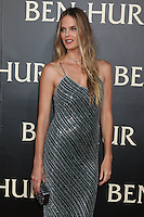 """HOLLYWOOD, CA - AUGUST 16: Shannan Click at the LA Premiere of the Paramount Pictures and Metro-Goldwyn-Mayer Pictures title """"Ben-Hur"""", at the TCL Chinese Theatre IMAX on August 16, 2016 in Hollywood, California. Credit: David Edwards/MediaPunch"""