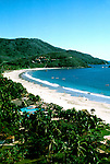 Mexico: Ixtapa..Beach. .Photo Copyright Lee Foster, www.fostertravel.com. .Photo #: mxixta101, 510/549-2202, lee@fostertravel.com