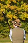 Game bird shoot St Claire's Estate, Hampshire. England 2007. Charles Garland.