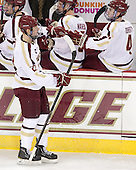 Patrick Brown (BC - 23) scored his second goal of the season and third of his collegiate career. - The Boston College Eagles defeated the visiting Dartmouth College Big Green 6-3 (EN) on Saturday, November 24, 2012, at Kelley Rink in Conte Forum in Chestnut Hill, Massachusetts.