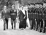 King Faisal and President Richard Nixon,  King Faisal of Saudi Arabia and President Richard Nixon, King Faisal Ibn Abdul Aziz Al Saud King of Saudi Arabia credited with rescuing the country's finances and implementing a policy of modernization and reform,