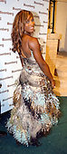 Washington, DC - May 1, 2004 -- Serena Williams arrives for the Bloomberg party following the 2004 White House Correspondents Association Dinner in Washington, D.C. on May 1, 2004..Credit: Ron Sachs / CNP.(RESTRICTION: No New York Metro or other Newspapers within a 75 mile radius of New York City)