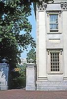 Philadelphia: First Bank of U.S. --detail. Photo '88.