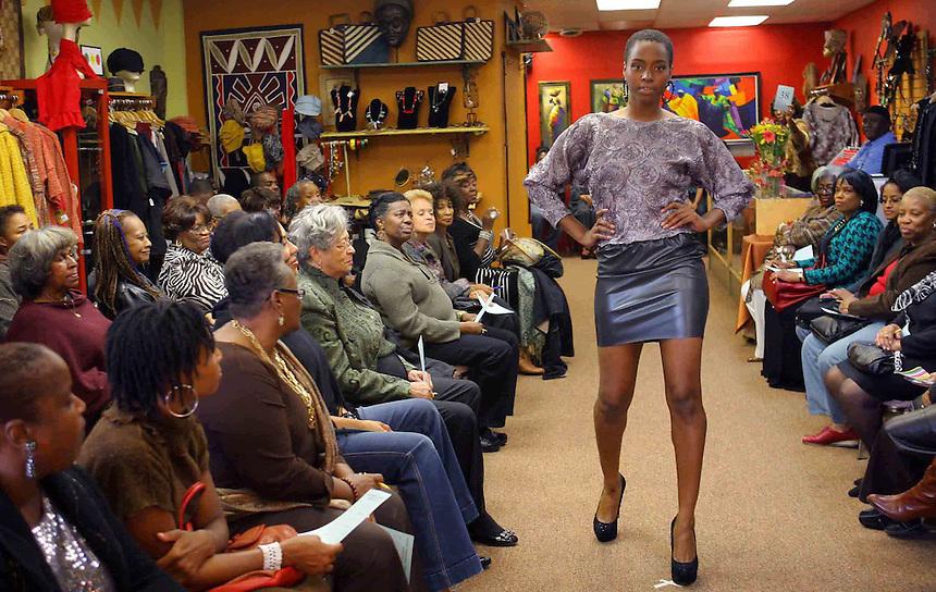 Sarah Kuenyefu fashion show