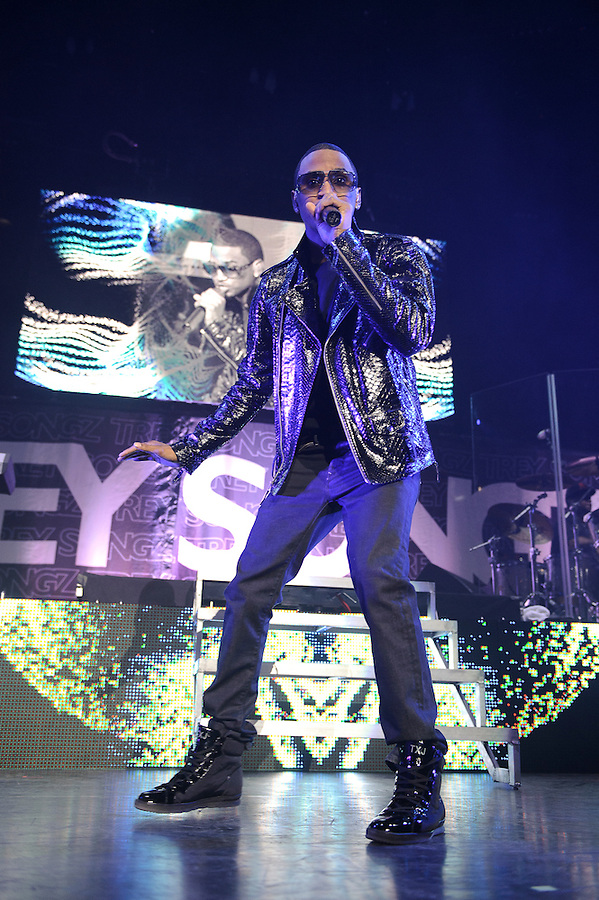 Trey Songz performs on the OMG Tour at Madison Square Garden, NYC. December 13, 2010. Copyright &copy; 2010 Matt Eisman. All Rights Reserved.