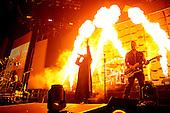 DISTURBED - David Draiman and Dan Donegan - performing live at the O2 Arena in London UK - 22 Jan 2017.  Photo credit: Zaine Lewis/IconicPix
