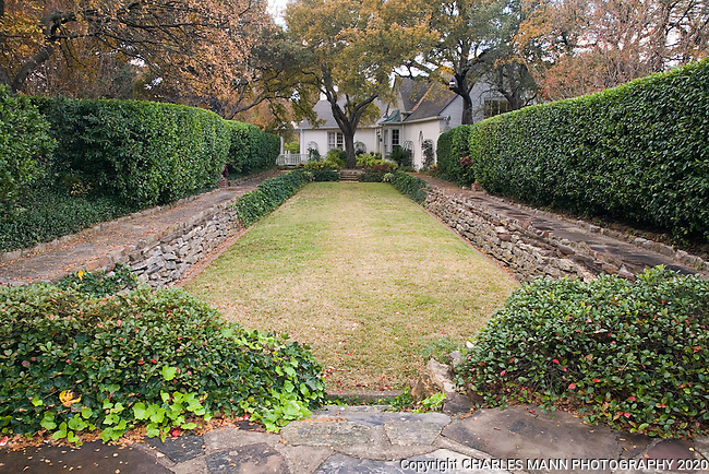 Douglas Chandor Garden Bowling Green Weatherford Texas Mann Mg Charles Mann Photography