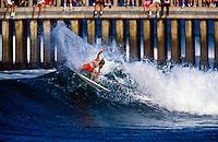 Brad Gerlach (USA)  winning the Gunston 500 at Durban South Africa. circa 1991 Photo: joliphotos.com