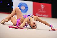 "February 8, 2014 - Tartu, Estonia - SUZANNE BOROVCOVA  (1999 junior) from Czech Republic performs at ""Miss Valentine 2014"" international tournament."