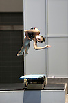 25 MAR 2011:  Courtney Keefe of Springfield competes in the one meter dive during the Division III Men's and Women's Swimming and Diving Championship help at Allan Jones Aquatic Center in Knoxville, TN.  Keefe finished fifth. David Weinhold/NCAA Photos