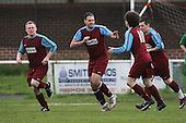 Cressing scores their first goal - Cressing Yardley United vs Frontline Reserves - Braintree & North Essex Sunday League Neil Horrocks Memorial Invitation Plate Final at Halstead Town FC - 14/05/12 - MANDATORY CREDIT: Gavin Ellis/TGSPHOTO - Self billing applies where appropriate - 0845 094 6026 - contact@tgsphoto.co.uk - NO UNPAID USE.