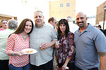 Waterbury, CT- 19 May 2017-051917CM11- SOCIAL MOMENTS-- From left, representing Prospect printing Gayle and Mike Ambrose of Southington along with Tammy and Mark Deloia of Prospect, are photographed  during the Palace Theater's Palace 10.2: City Lights, City Nights celebration.  Christopher Massa Republican-American