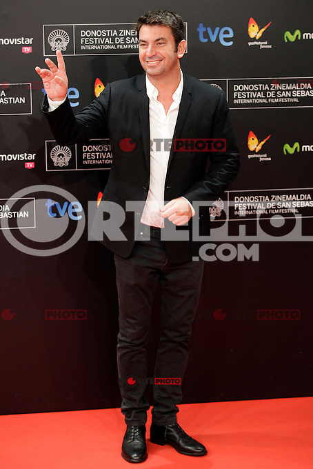 "Actor Arturo Vals posses in the photocall of the ""Las brujas de Zugarramurdi"" film premiere during the 61 San Sebastian Film Festival, in San Sebastian, Spain. September 22, 2013. (ALTERPHOTOS/Victor Blanco) /NortePhoto"