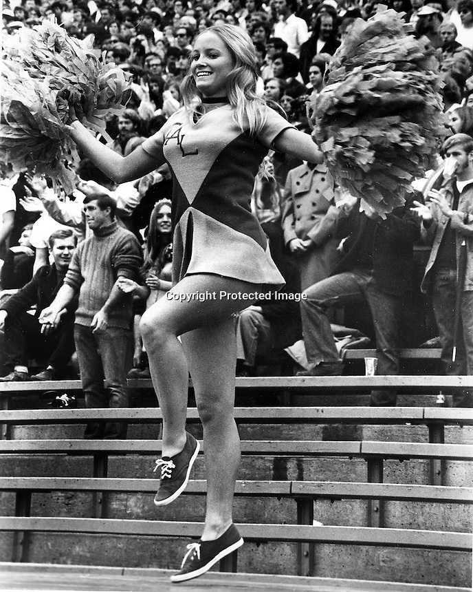 University of California cheer leader Sherry Lenmon,<br />