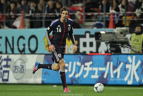 Mike Havenaar (JPN), .FEBRUARY 29, 2012 - Football / Soccer : 2014 FIFA World Cup Asian Qualifiers Third round Group C match between Japan 0-1 Uzbekistan at Toyota Stadium in Aichi, Japan. (Photo by Akihiro Sugimoto/AFLO SPORT) [1080]