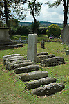 Pips Graves Cooling St James Church yard,  Hoo Peninsular Isle of Grain Kent England. 10 childrens gravestones graves all died between 1771 and 1790 before the age of 17 months, they are buried around the grave of their parents Michael and Jane Comport of Cooling Manor and Cooling Castle. The three gravestones together belong to the children of John .Rose-Baker and Sarah Anne who was the daughter of Michael Comport and died aged 1, 3, and 5 months in the mid 19th centuary.  Regarded to have inspired Charles Dickens opening scene in his novel Great Expectations. These children apparently died of ague, being the English word for malaria.