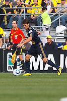 24 OCTOBER 2010: Philadelphia Union midfielder Stefani Miglioranzi (15) during MLS soccer game against the Columbus Crew at Crew Stadium in Columbus, Ohio on August 28, 2010.