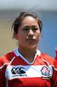 Takako Matsudaira (JPN), .MAY 19, 2012 - Rugby : Woman's Rugby Test match between Japan women's 61-15 Hong Kong women's at Chichibunomiya Rugby Stadium, Tokyo, Japan. (Photo by Jun Tsukida/AFLO SPORT)