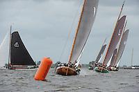 ZEILEN: WOUDSEND: Hegemer Mar, 08-08-2016, SKS Skûtsjesilen, ©foto Martin de Jong