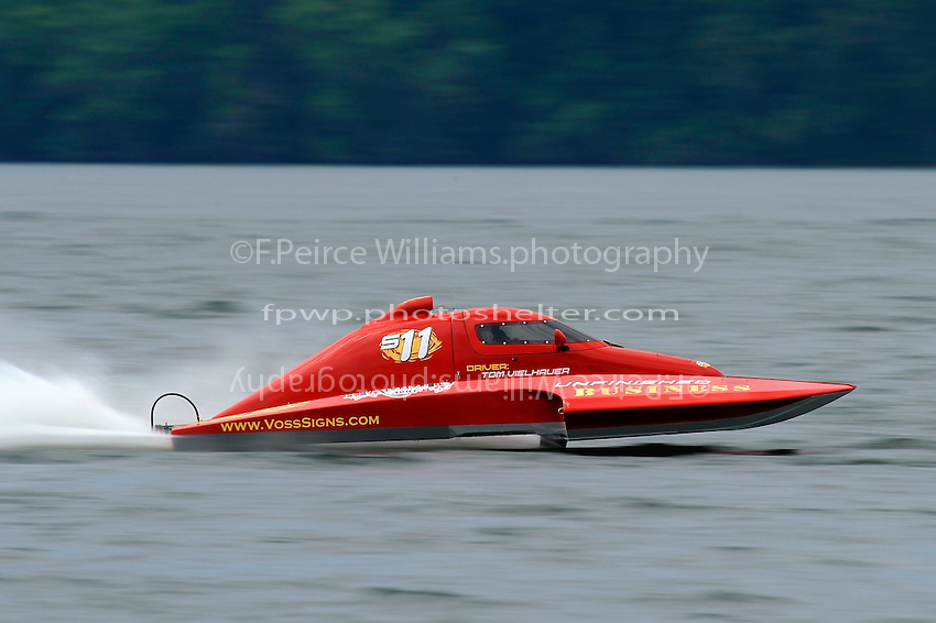 "Tom Vielhauer, S-11 ""Unfinished Business"" (2.5 Litre Stock hydroplane(s)"