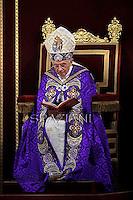 Pope Benedict XVI Vesper prayer with members  universities  at St Peter's basilica . December 1,2012