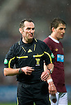 Hearts v St Johnstone...03.12.11   SPL .Ref Stevie O'Reilly.Picture by Graeme Hart..Copyright Perthshire Picture Agency.Tel: 01738 623350  Mobile: 07990 594431
