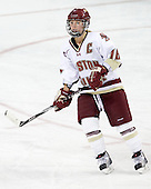 Kelli Stack (BC - 16) - The visiting Boston University Terriers defeated the Boston College Eagles 1-0 on Sunday, November 21, 2010, at Conte Forum in Chestnut Hill, Massachusetts.