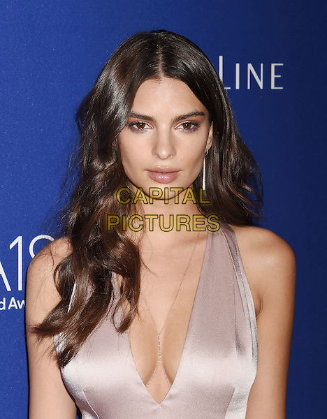 BEVERLY HILLS, CA - FEBRUARY 23: Actress Emily Ratajkowski attends the 18th Costume Designers Guild Awards at The Beverly Hilton Hotel on February 23, 2016 in Beverly Hills, California.<br /> CAP/ROT/TM<br /> &copy;TM/ROT/Capital Pictures