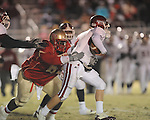 Lafayette High's D.Q. Reynolds (63) vs. Louisville in MHSAA 4A playoff action at William L. Buford Field in Oxford, Miss. on Friday, November 18, 2011. Lafayette won 28-6 and will advance to play Amory.