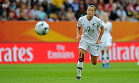 Ali Riley of team New Zealand during the FIFA Women's World Cup at the FIFA Stadium in Dresden, Germany on July 1st, 2011.