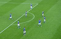 FUSSBALL  EUROPAMEISTERSCHAFT 2012   VORRUNDE Spanien - Italien            10.06.2012 Enttaeuschte Italiener