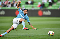 Melbourne, 17 December 2016 - TIMOTHY CAHILL (17) of Melbourne City warms up prior to the round 11 match of the A-League between Melbourne City and Melbourne Victory at AAMI Park, Melbourne, Australia. Victory won 2-1 (Photo Sydney Low / sydlow.com)