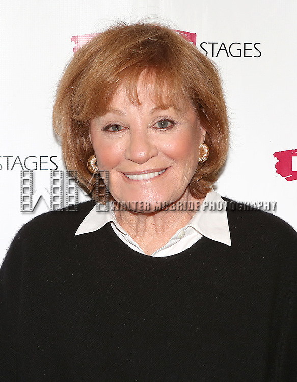 Cynthia Harris attending the Meet & Greet for the Primary Stages production of 'The Tribute Artist' at their rehearsal studios  on January 7, 2014 in New York City.