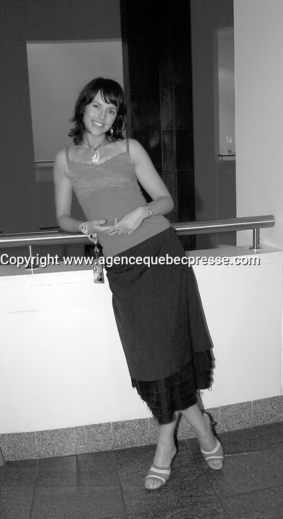 September 2,  2003, Montreal, Quebec, Canada<br /> <br /> Michelle Langstone, actress in FOR GOOD Presented in the Oceania section of the World Film Festival<br /> <br /> The Festival runs from August 27th to september 7th, 2003<br /> <br /> <br /> Mandatory Credit: Photo by Pierre Roussel- Images Distribution. (&copy;) Copyright 2003 by Pierre Roussel <br /> <br /> All Photos are on www.photoreflect.com, filed by date and events. For private and media sales