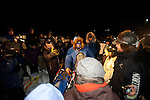 Photographs of John Baker's 2011 Iditarod run. Arriving in Unalakleet checkpoint. Stephen Nowers/Alaska Dispatch.