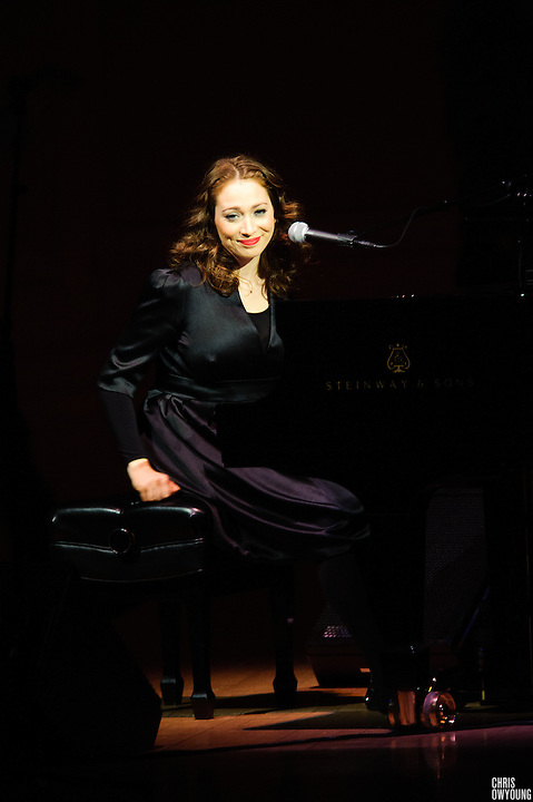 Regina Spektor at the Twentieth Annual Tibet House Benefit Concert  at Carnegie Hall, New York City. February, 26, 2010. Copyright © 2010 Chris Owyoung. All Rights Reserved.