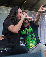 Born of Osirus  at Mayhem Fest 2013