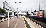 Morgan Sindall - Harpenden Passenger Footbridge Railway Station  21st May 2013