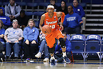 10 February 2017: Syracuse's Brittney Sykes. The Duke University Blue Devils hosted the Syracuse University Orange at Cameron Indoor Stadium in Durham, North Carolina in a 2016-17 Division I Women's Basketball game. Duke won the game 72-55.