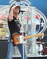 Tim McGraw Performs At The NASCAR Sprint Cup Series Ford EcoBoost 400