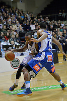 Josh Pace in action during the NBL Final Four - Saints v Giants at TSB Bank Arena, Wellington, New Zealand on Friday 4 July 2014. <br /> Photo by Masanori Udagawa. <br /> www.photowellington.photoshelter.com.