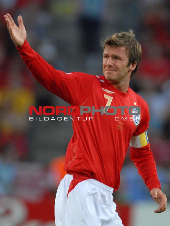FIFA WM 2006 -  Gruppe B Vorrunde ( Group B )<br /> Play    #35 (20-Jun) - Schweden vs England <br /> <br /> David Beckham (ENG)<br /> <br /> Foto &copy; nordphoto