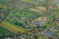 Gose Elbe: EUROPA, DEUTSCHLAND, HAMBURG, (EUROPE, GERMANY), 09.07.2011: Gose Elbeim Fruehjahr, Fluss durch die Kulturlandschaft der Vier und Marschlande,