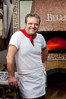 Antonio Tommasino, owner at Pizzeria Bellini in the historic centre of Naples, Italy