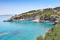 Xigia beach in Zakynthos island, Greece