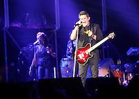 Singer Alejandro Sanz in Valladolid Latino